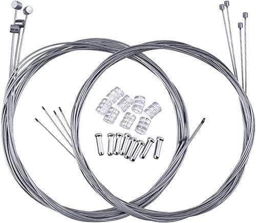 ECHG 8pcs Cable Freno y Cable Cambio, con 8 Terminales y 8...
