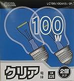クリア電球100W形2PLC100V95W2PA