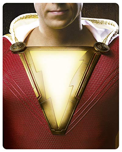 Shazam! (3D + 2D Steelbook) (exklusiv bei amazon.de) [3D Blu-ray] [Limited Edition]