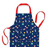 Nomsum Art Smock and Apron for Kids Child and Toddler for Cooking, Baking, Arts & Crafts