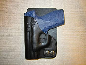 S & W M&P Shield 9MM & 40 Cal Leather Right Hand Wallet and Pocket Holster