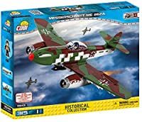 Cobi Historical Collection #5543 ミリタリーブロック WWII 爆撃機 メッサーシュミット Me262 Messerschmitt Me 262A Schwalbe 【COBI 日本正規総代理店】