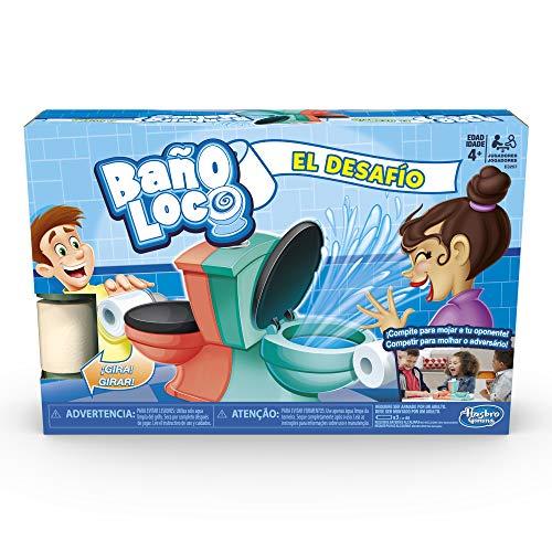 Hasbro Gaming Baño Loco, El Desafío Game