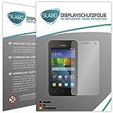 Slabo 4 x Bildschirmschutzfolie für Huawei Y3 Bildschirmfolie Schutzfolie Folie Zubehör No Reflexion MATT