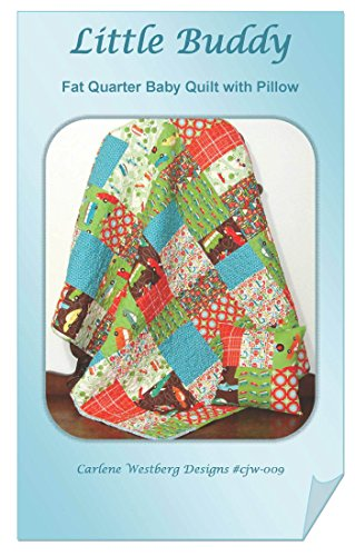 Little Buddy Baby Quilt Pattern cjw-009 Carlene Westberg Designs