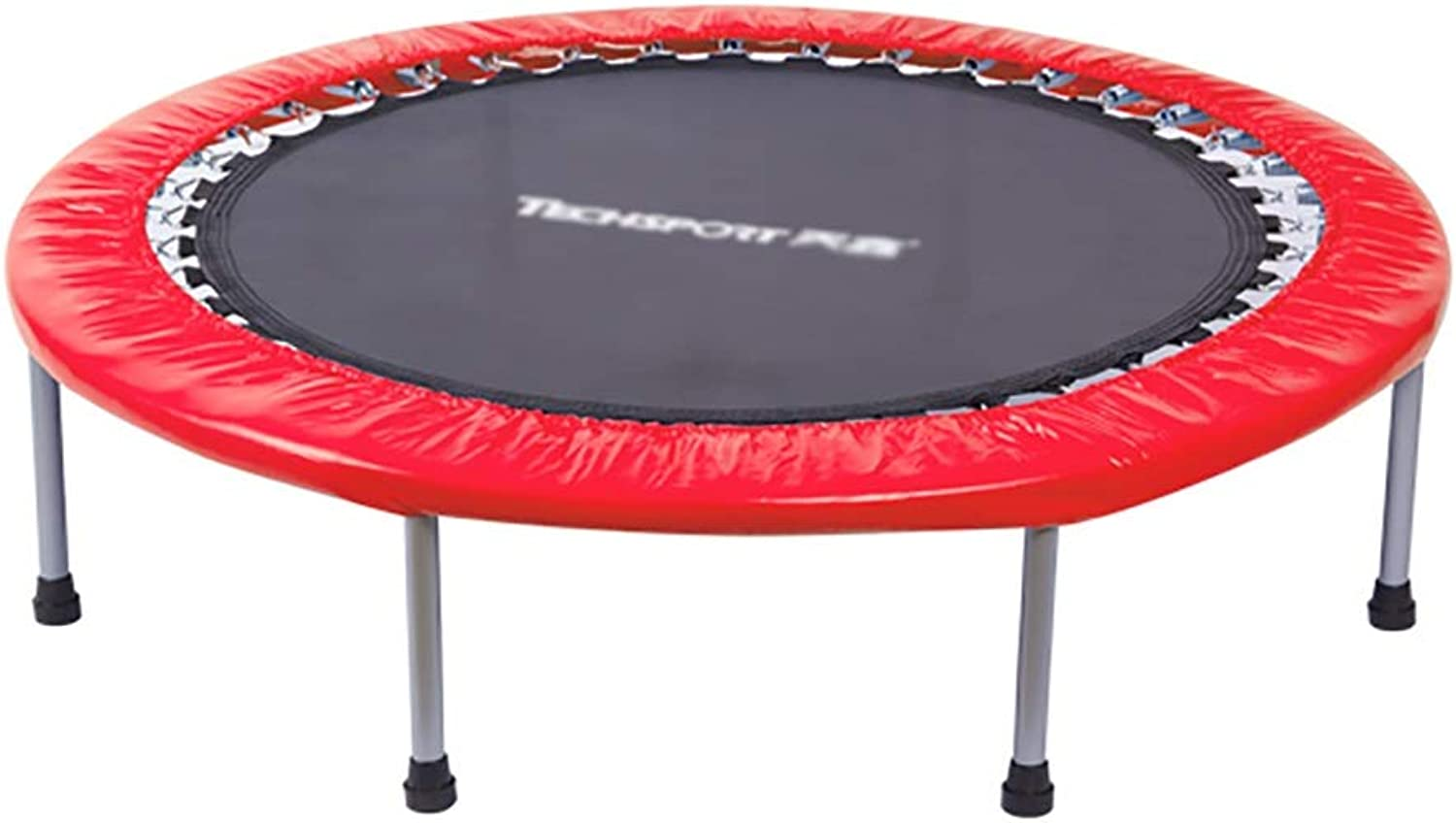TRAMPOLINE ZCJB 48'' Exercise Mini for Indoor garden, 6 Legs, max load 330 Pounds, Red