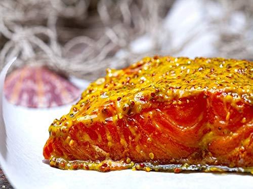Klaassen Stremellachs Honig-Senf, Lachs über Buchenrauch geräuchert, Honig-Senf, 250g