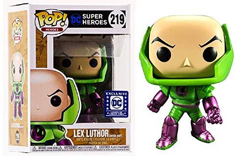 Lex Luthor Mech Suit Funko POP! Heroes! Exclusive #219 Vinyl Figure Legion of Collectors