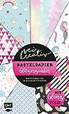 Sei kreativ! – Bastelpapier Glitzerzauber: Bastelideen und 30 Bogen Motivpapier – Mit bunter...