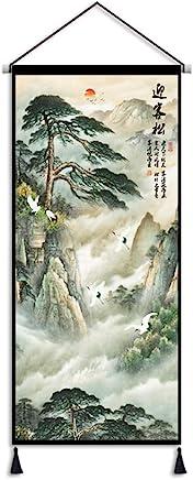 LJBOZ タペストリー中国風アートタペストリー生地壁画家の装飾壁掛け壁タペストリー毛布-180センチ×80センチ タペストリー