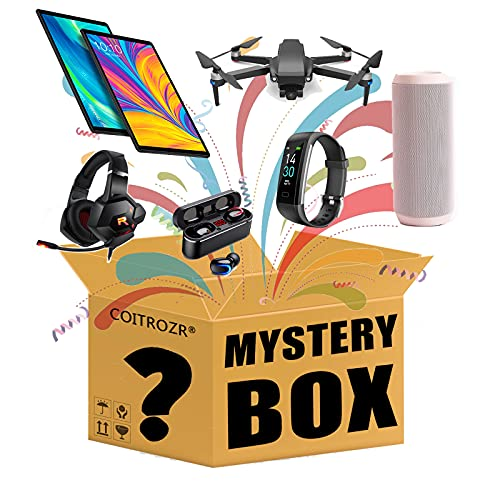 QEL 3c Electronic Mystery Box Surprise Box You Must Win one of The Products....
