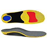 MAECKI Orthotic Insole High Arch Foot Support Soft Medical Functional insoles, Insert for Severe Flat Feet,Plantar Fasciitis, 3/7/2020, Grey