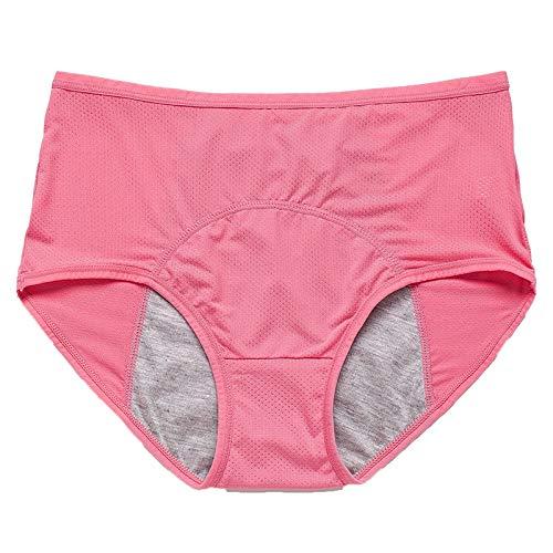 Underwear A prueba de fugas Menstruales Bragas Fisiológicas Pantalones de las Mujeres Período Algodón Impermeable Calzoncillos Más el Tamaño de la Mujer Lencería