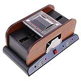 La macchina per mescolare le carte, alimentata a batteria, può lavare un mescolatore di carte da uno/due mazzi per giochi di club di casa/croupier di casinò
