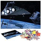 Estrella de la Guerra de Las Galaxias Puzzle 1000 Piezas Arte DecíDete A Quedarte En Casa Esta Es Una Buena OpcióN para Reuniones Familiares