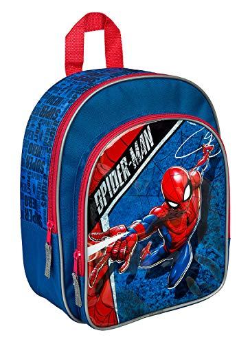 Undercover mit Vortasche, Marvels Spider-Man, für Schule und Freizeit, SPID7601 27,5 x 31,5 x 10,5 cm, Blau
