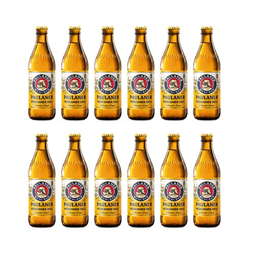 Paulaner Munchner Hell Premium Lager 33cl 4,9% vol. Confezione da 24