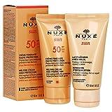 Nuxe sun crema fondante rostro spf50 50ml + after sun 50ml