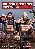 ASTRA Bier Werbung/Reklame Plakat DIN A1 59,4 x 84,1cm Die