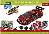 ドイツレベル 1/20 ジュニアキットシリーズ プルバック レーシングカー レッド 色分け済みプラモデル 00835
