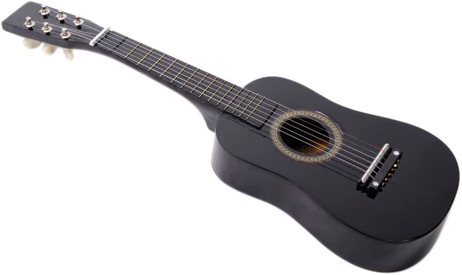 Strings Picks Strap Tuner 23 inch Professional Wooden Classical Acoustic Guitar