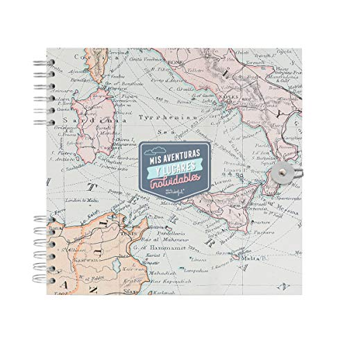 Mr. Wonderful WOA10209ES Álbum de Fotos Viaje - Mis Aventuras y Lugares...