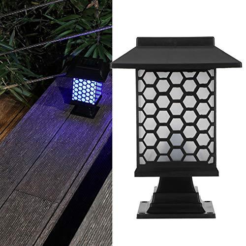 Demeras Luz Solar, 2 Juegos de Luces de Calle con Interruptor automático para Exteriores para iluminación de jardín para decoración(Colorful Gradient)