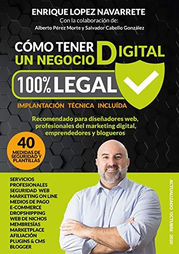 CÓMO TENER UN NEGOCIO DIGITAL 100% LEGAL: Guía para tener una web libre de sanciones
