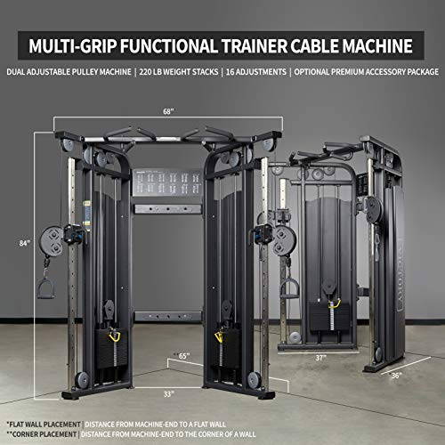 REP FITNESS Functional Trainer with Performance Attachment Package and AB-3000