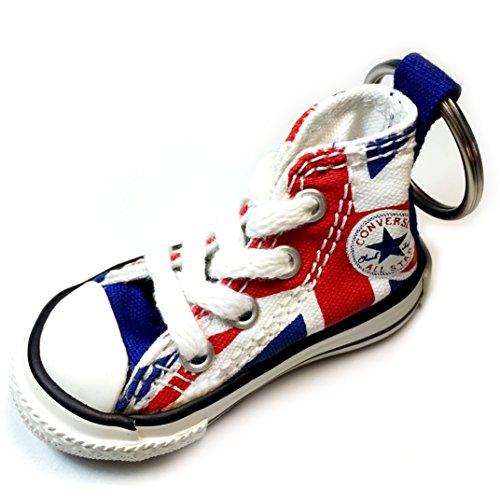 Llavero Converse All Star Chuck Taylor Sneaker llavero auténtico (bandera británica)