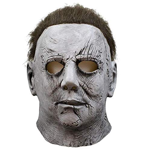 XIAMAZ Halloween Horror Maske Cosplay Erwachsene Hohe Qualität Latex Integralhelm Halloween Party Scary Comfort Requisiten Maske