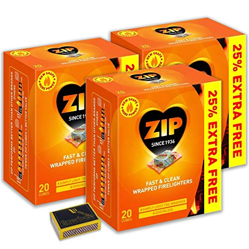 ZIP Wrapped Firelighters