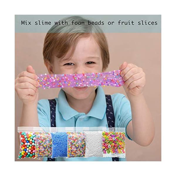 Slime Kit for Girls Complete - Super Fun Girls Toys - Jumping Slime - DIY Big Slime Kit - 21 Color Crystal Slime… 10