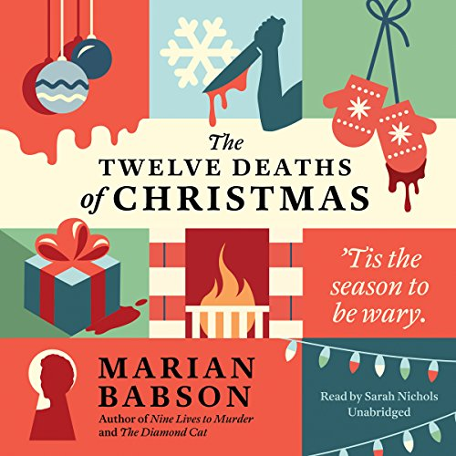 The Twelve Deaths of Christmas audiobook cover art