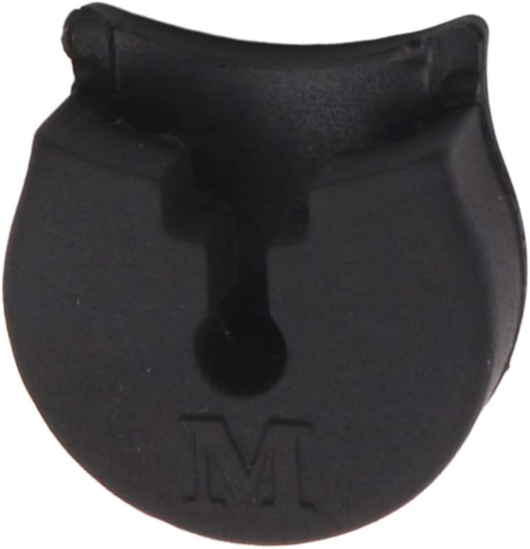 Large Caliber SM SunniMix Black Thumb Rest for Oboe Clarinet Instruments Finger Protective Accessory
