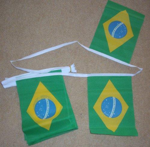 Brésil fanions 9metres/30 m - 30 fanions