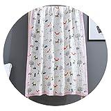 幼児Aタイプ純綿ガーゼ毛布毛布タオルバブルガーゼバスタオル柔らかい吸収性ベビーバッグサイド寝具,おとぎ話の動物の森,110×110cm