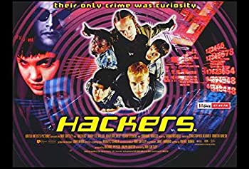 Hackers Movie POSTER 27 x 40 Angelina Jolie Felicity Huffman B MADE IN THE U.S.A.