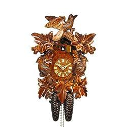 August Schwer Cuckoo Clock Seven Leaves, Three Birds 2.0085.01.C