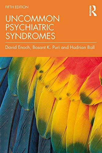 51JM+BrT1qL - Uncommon Psychiatric Syndromes