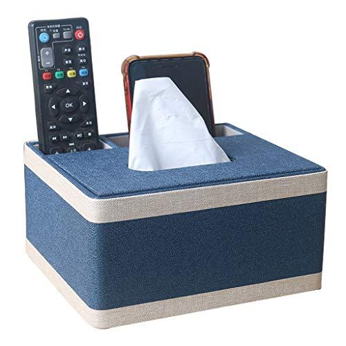 CAOO Estuche para pañuelos con Control Remoto Estuche para Escritorio Estuche para Almacenamiento de cosméticos, artículos pequeños, Multifuncional, Estilo nórdico