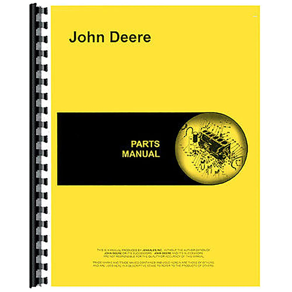 New Fits John Deere Baler Parts Attention Max 67% OFF brand 216 Manual