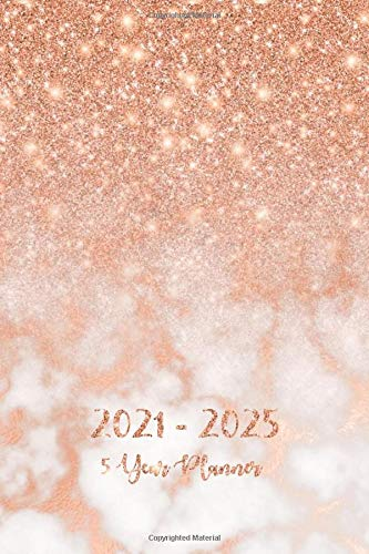 5 Year Planner 2021-2025: Pocket Monthly Schedule Organizer, Agenda Planner For The Next Five Years, 60 Months Calendar, Appointment Notebook with ... (2021-2025 Pocket Planner For 5 Year, Band 2)