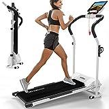 Kinetic Sports KST2500FX Laufband klappbar elektrisch flach leiser Elektromotor 500 Watt bis 120 kg,...