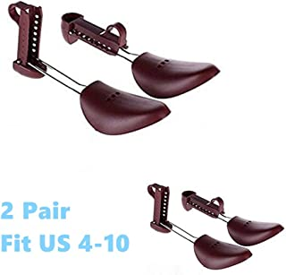 90e68b67847 YOLOPLUS 2 Pair Practical Women Fit US Size 4-10 Portable Traditional  Plastic Shoe Tree