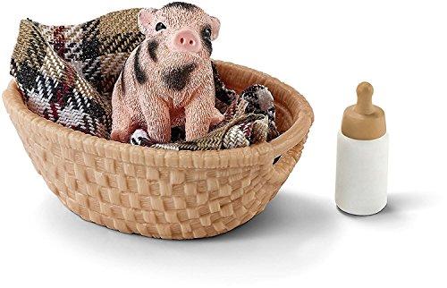 Schleich 42294 - Mini Schwein mit Fläschchen