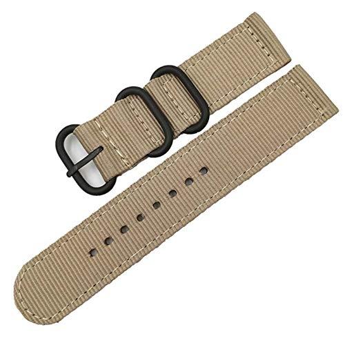 JWWLLT Cinturón de la Banda de Reloj de Nylon de Tejido con la Herramienta para Garmin Fenix 5/5 Plus/Forerunner 935 22 mm 26mm Sports Strap Loop Military Pulsera Militar
