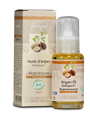 Laboratoire du Haut-segala vierge biologique à l'huile d'argan, 50 ml