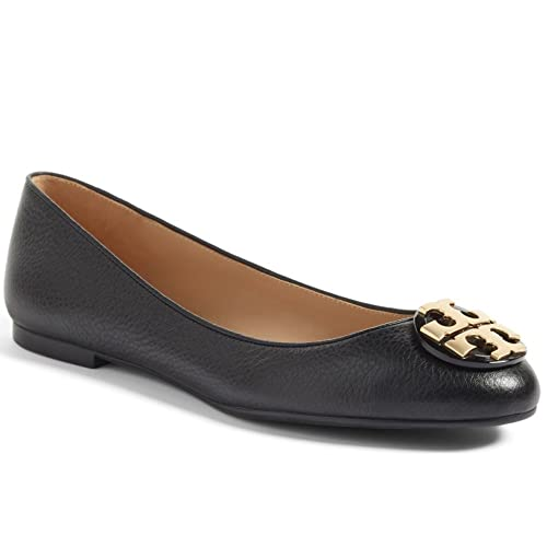 4fc343c4417 Tory Burch Tumbled Leather Claire Ballet Flat