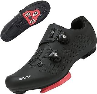 TFNYCT Chaussures de Cyclisme sur Route pour Hommes avec Crampons antidérapants pour Le Cyclisme de Montagne en intérieur,...